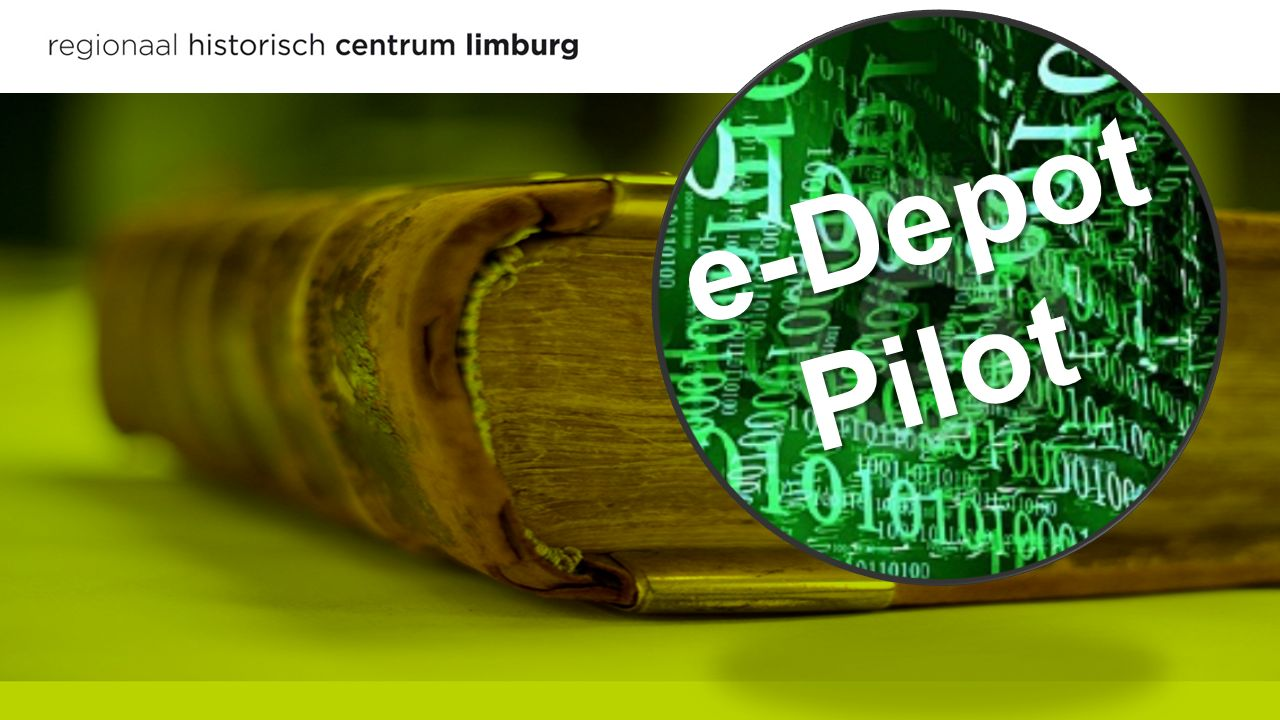 e-Depot Pilot e-Depot Pilot