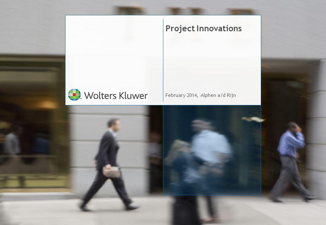 Project Innovations February 2014, Alphen a/d Rijn