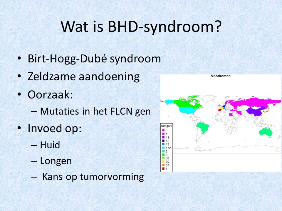 Wat is BHD-syndroom.
