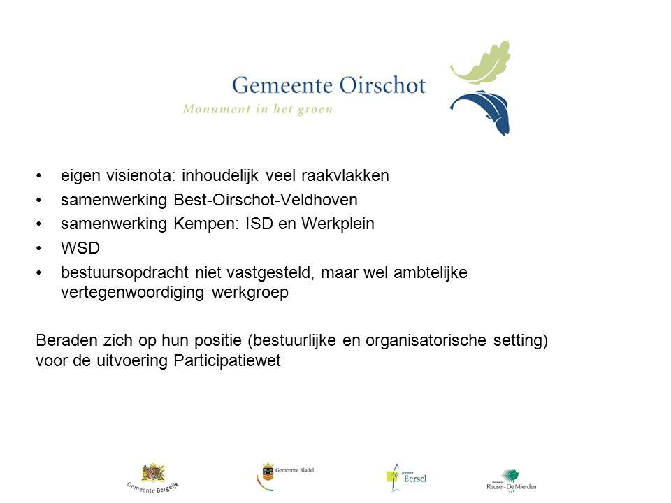 Participatiebedrijf de Kempen Focus op werk, potentieel 3-D benadering Werkplein de Kempen: 1.
