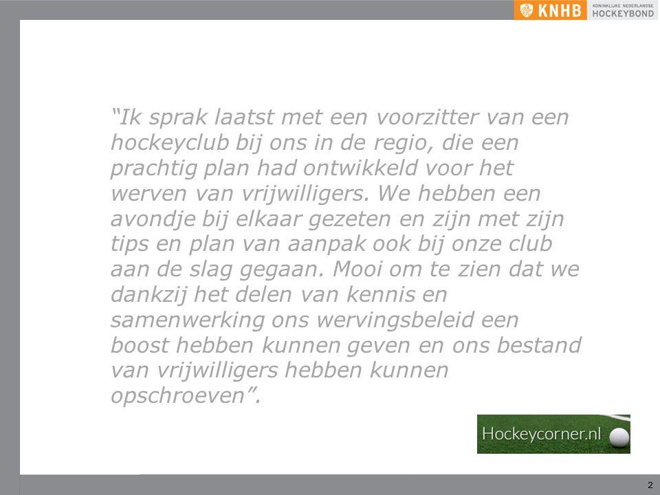3 Wat is Hockeycorner.nl.
