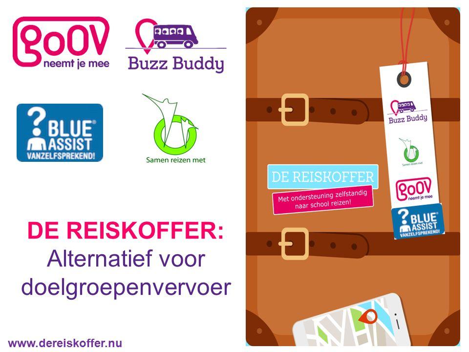 DE REISKOFFER: Alternatief voor doelgroepenvervoer www.dereiskoffer.nu