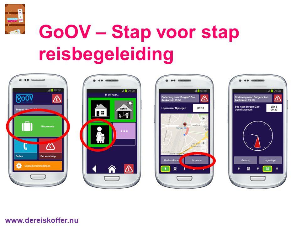 GoOV – Stap voor stap reisbegeleiding www.dereiskoffer.nu