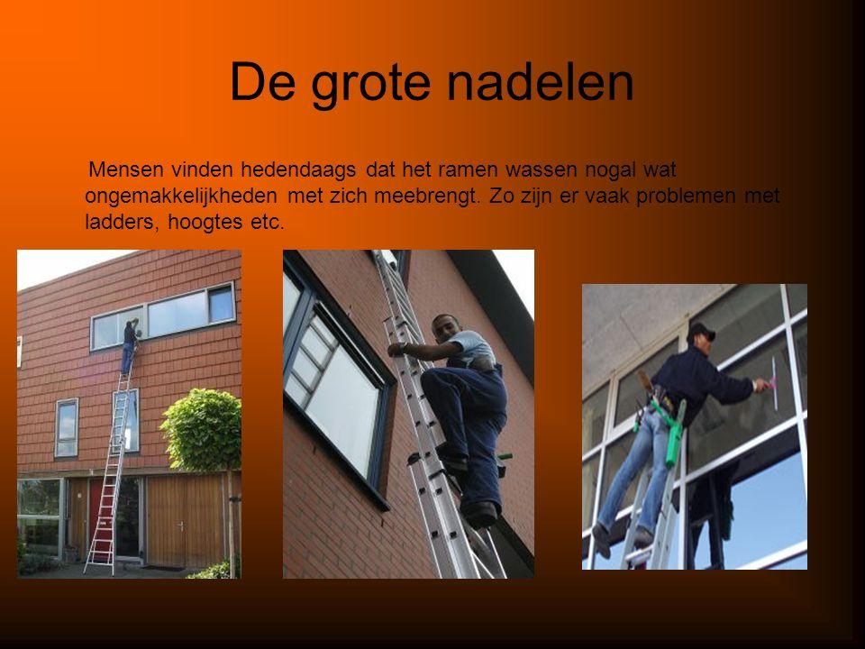 De oplossing De oplossing die ik bedacht heb voor het probleem ramen wassen is : de automatische ramenwasser.