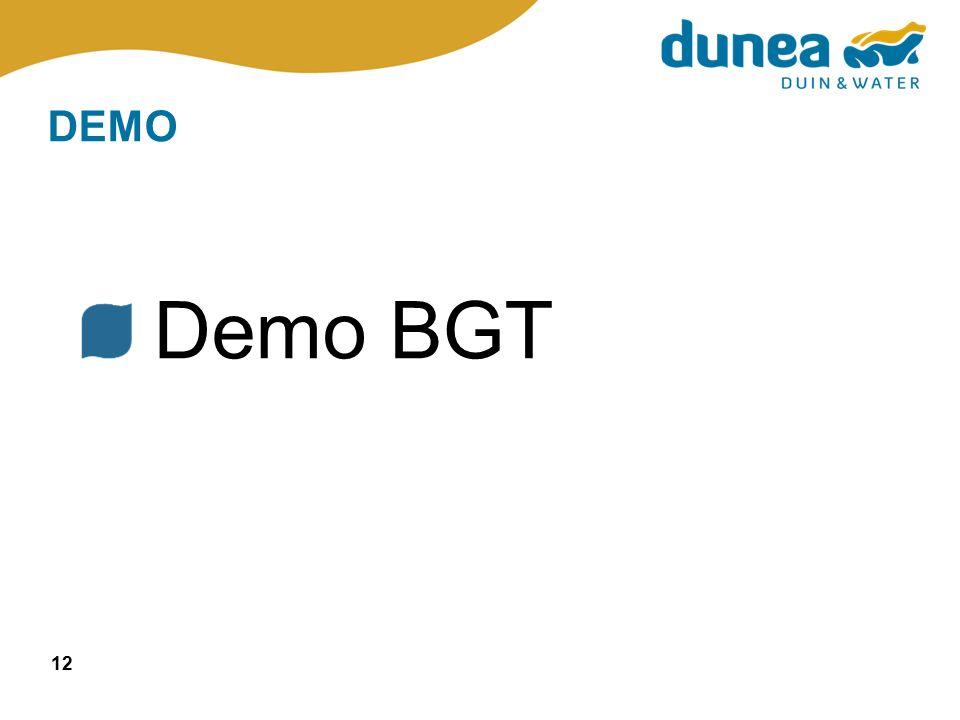 12 DEMO Demo BGT