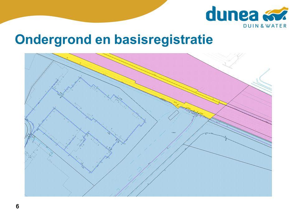 6 Ondergrond en basisregistratie