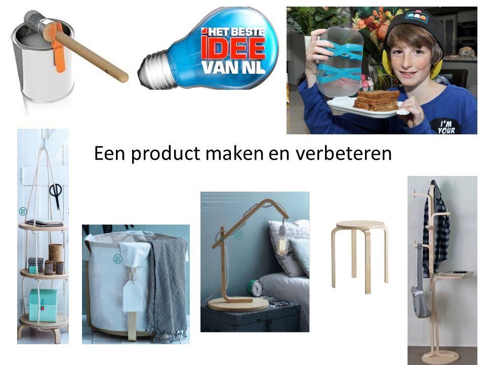 Een product maken en verbeteren