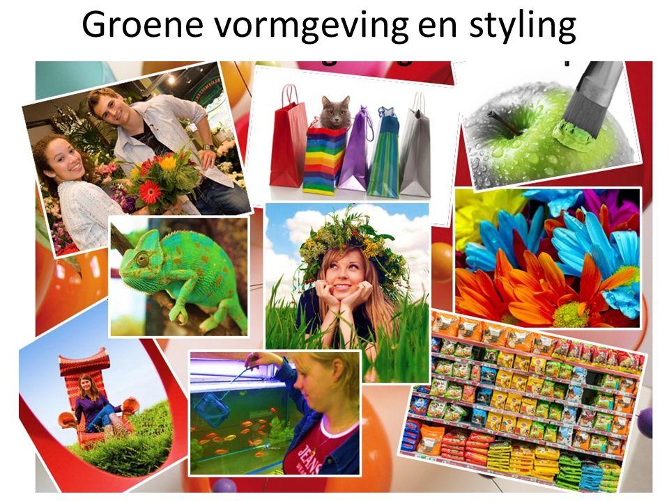 Groene vormgeving en styling
