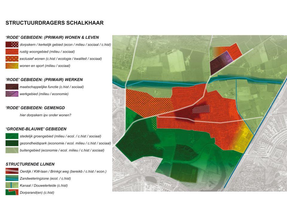 Integraal gedefinieerde kwaliteit leefomgeving Maatschappelijk belang levendigheid dorpscentrum: afwegingsruimte in milieunormen / parkeren wenselijk Behoud en verbetering milieukwaliteit in de woonomgeving is vertrekpunt