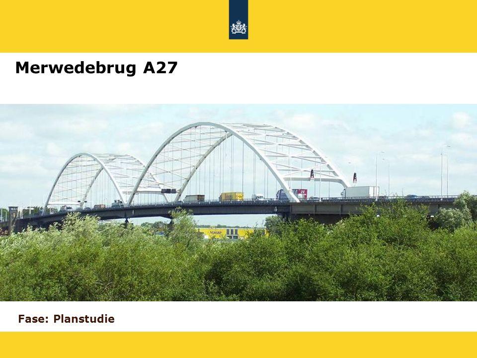 Merwedebrug A27 Fase: Planstudie