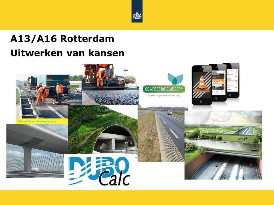 Uitwerken van kansen A13/A16 Rotterdam