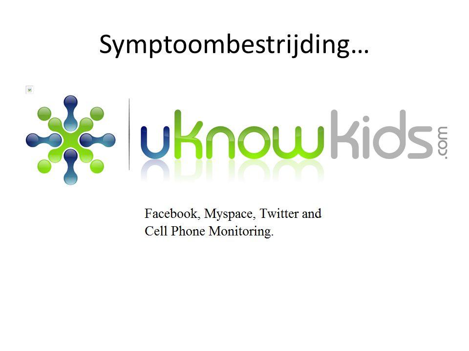 Symptoombestrijding…