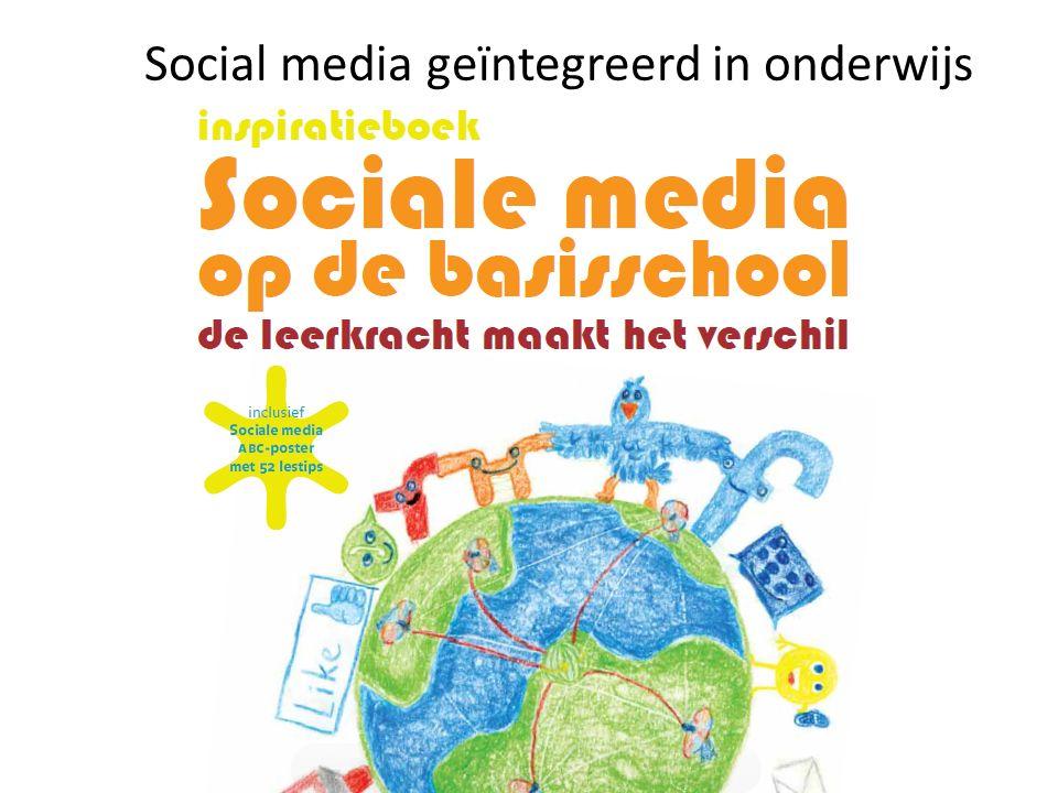 Social media geïntegreerd in onderwijs