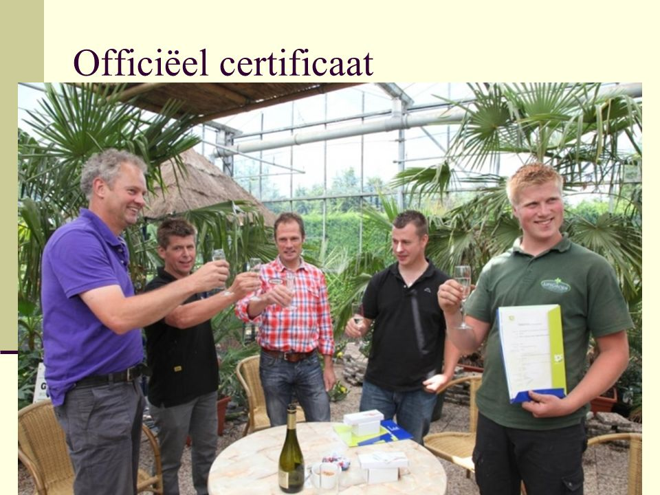 Officiëel certificaat