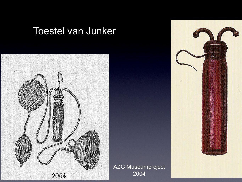 Toestel van Junker AZG Museumproject 2004