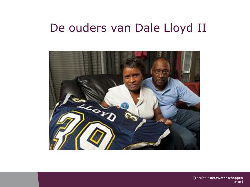 De ouders van Dale Lloyd II