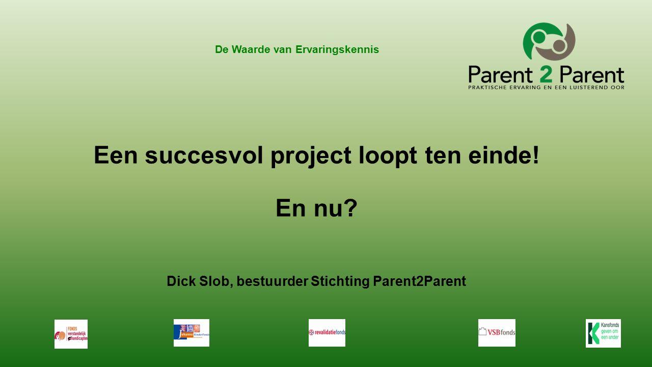 Resultaten projectperiode .