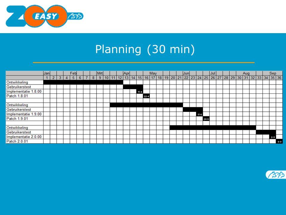 Planning (30 min)