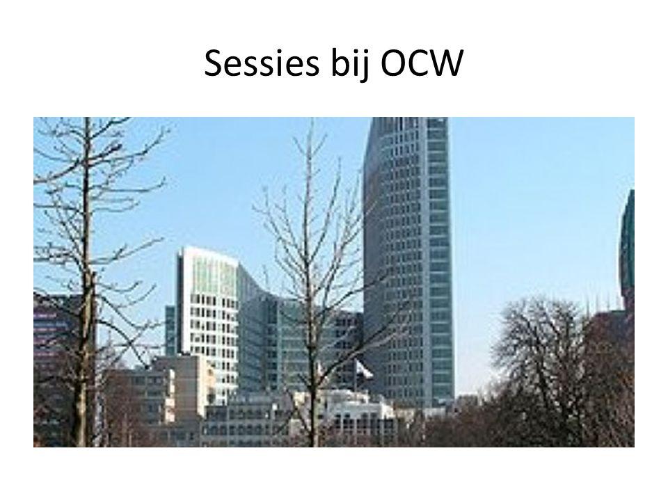 Sessies bij OCW