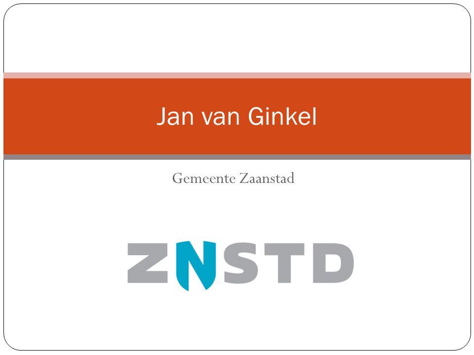 Gemeente Zaanstad Jan van Ginkel