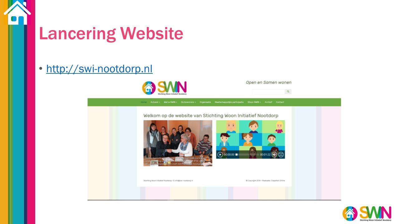 Lancering Website http://swi-nootdorp.nl