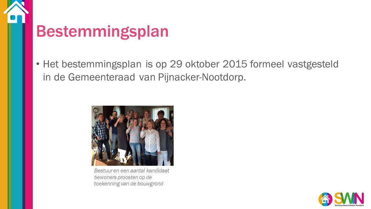 Bestemmingsplan Het bestemmingsplan is op 29 oktober 2015 formeel vastgesteld in de Gemeenteraad van Pijnacker-Nootdorp.