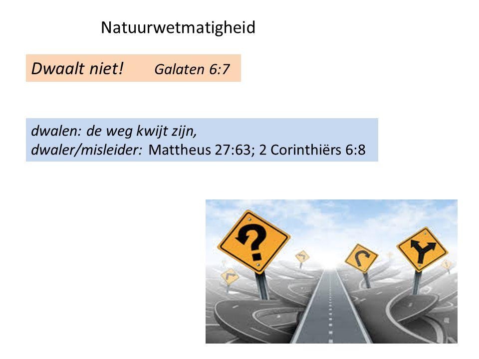 Zal uit het vlees verderf oogsten Galaten 6:8 oude mens uitleven, wil geen onrecht ondergaan, zich verheffen ten koste van…
