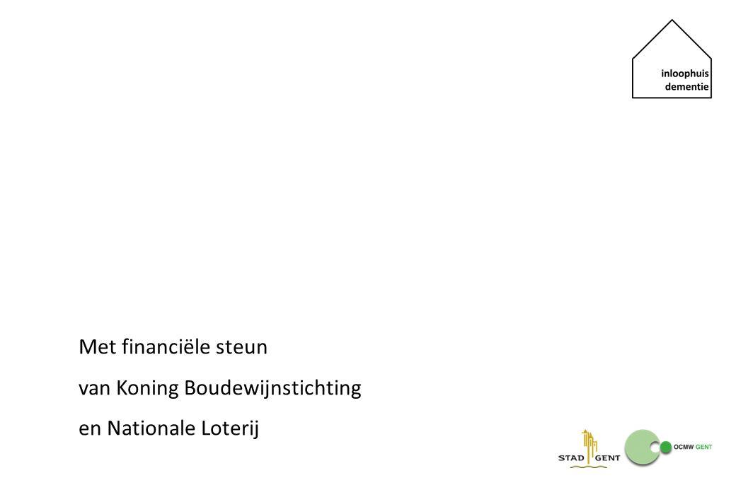 Met financiële steun van Koning Boudewijnstichting en Nationale Loterij