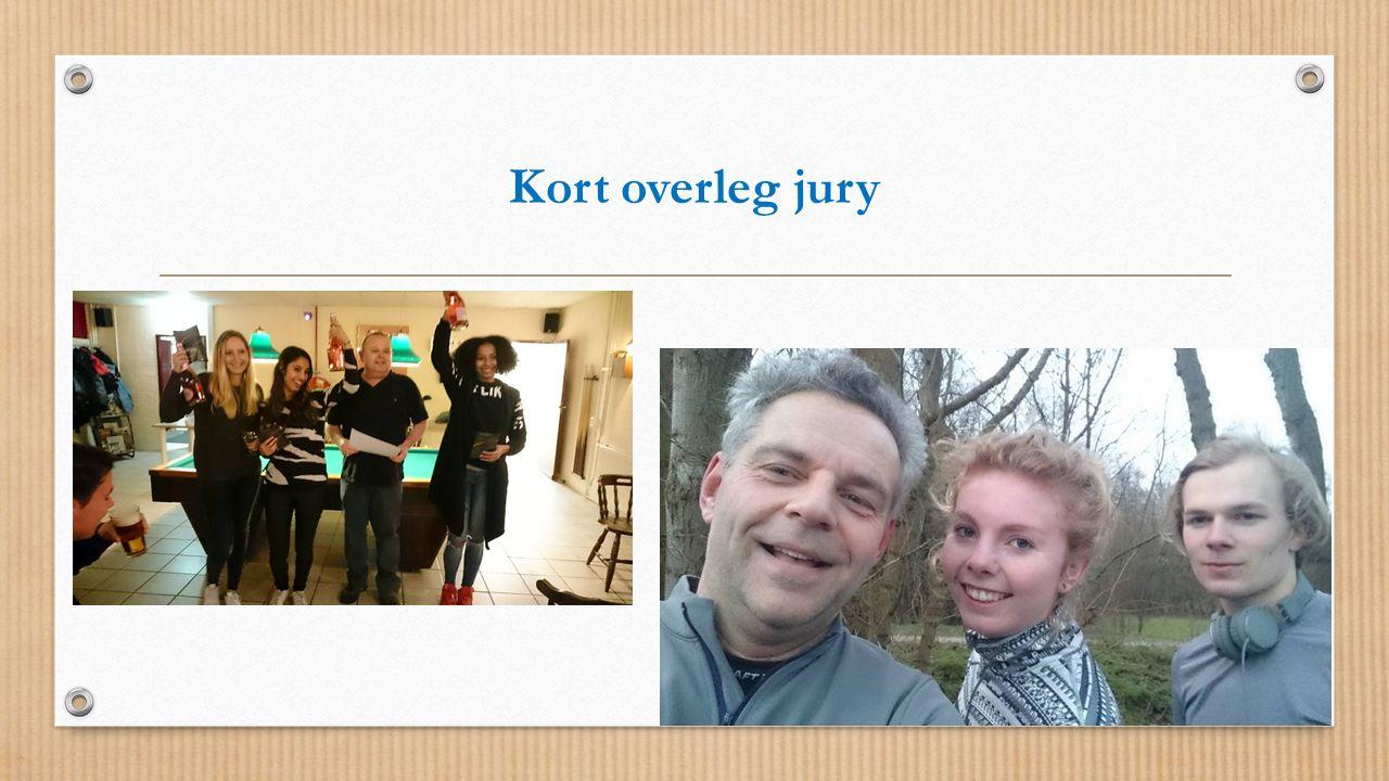 Kort overleg jury