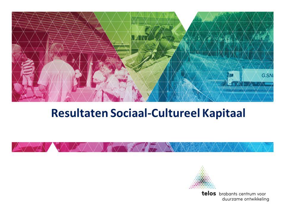 Resultaten Sociaal-Cultureel Kapitaal