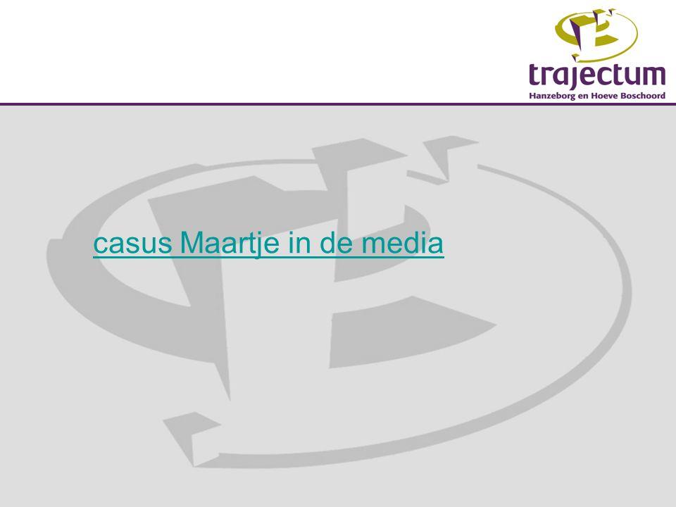 casus Maartje in de media