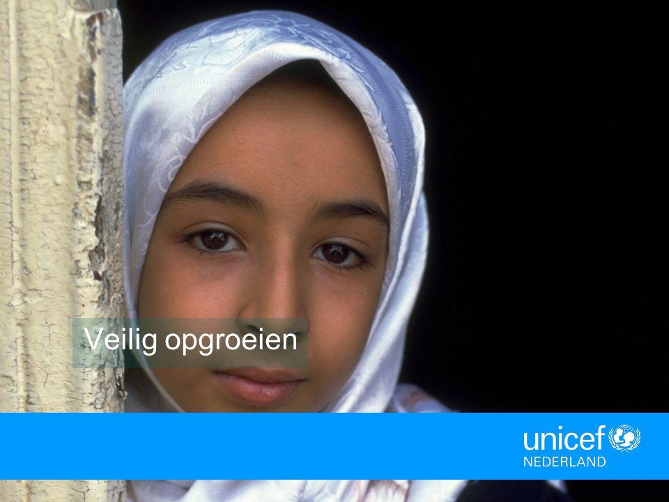 Natuurramp of oorlog Extra kwetsbaar Samenwerken Wat doet UNICEF?