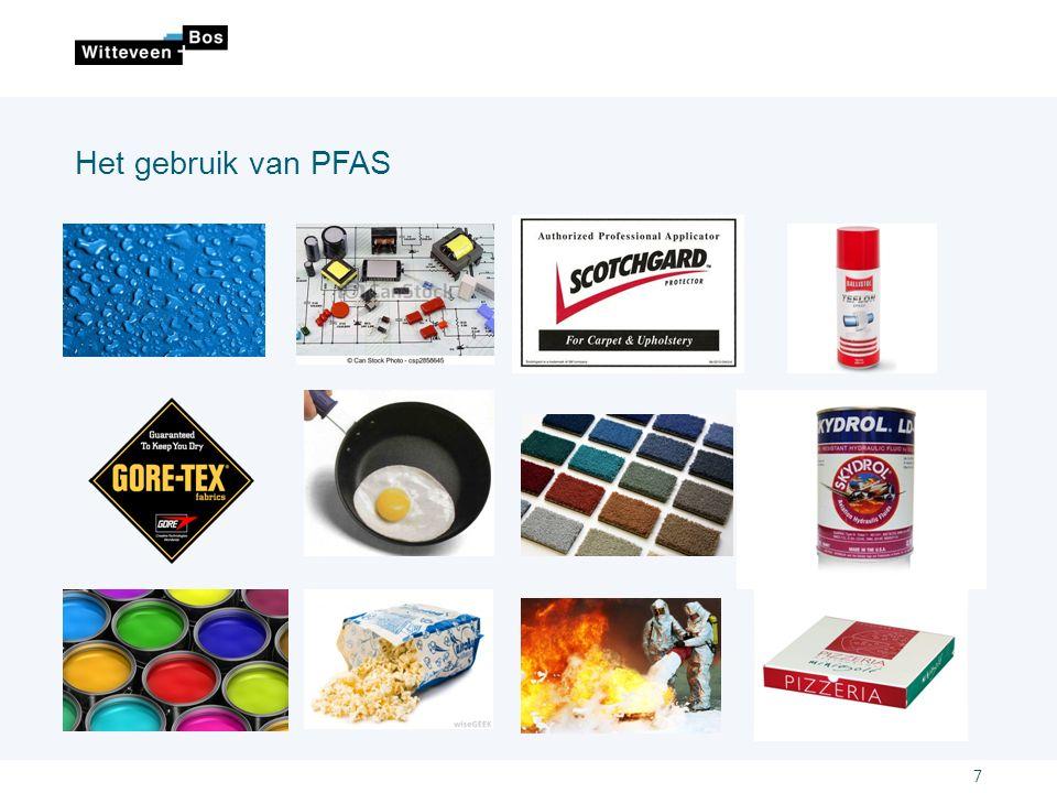 Het gebruik van PFAS 7