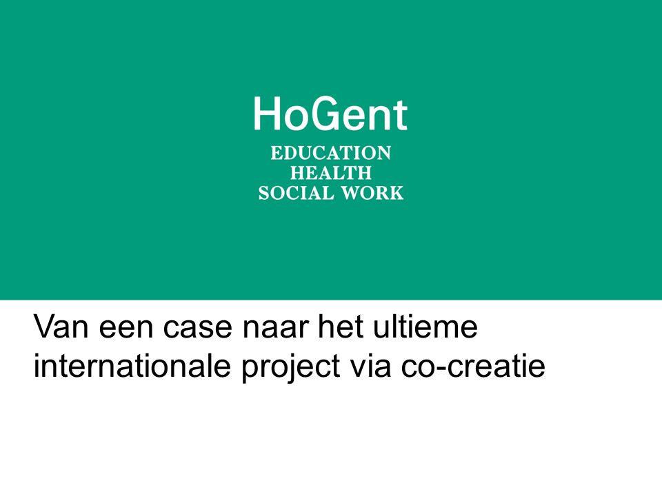 Van een case naar het ultieme internationale project via co-creatie