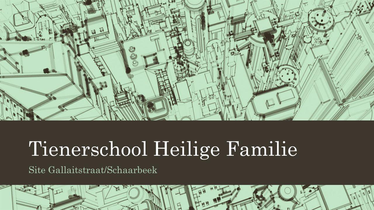 Tienerschool Heilige Familie Site Gallaitstraat/Schaarbeek
