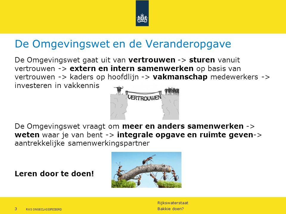 Rijkswaterstaat 3Bakkie doen.
