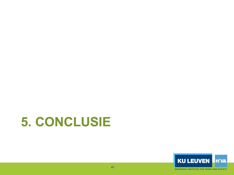 5. CONCLUSIE 47