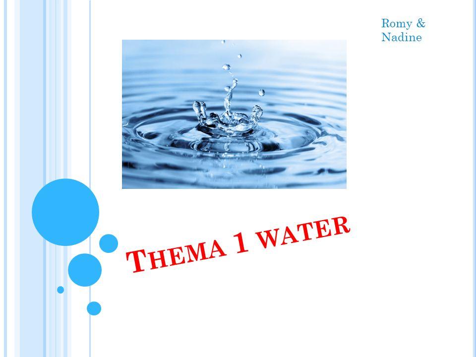 T HEMA 1 WATER Romy & Nadine