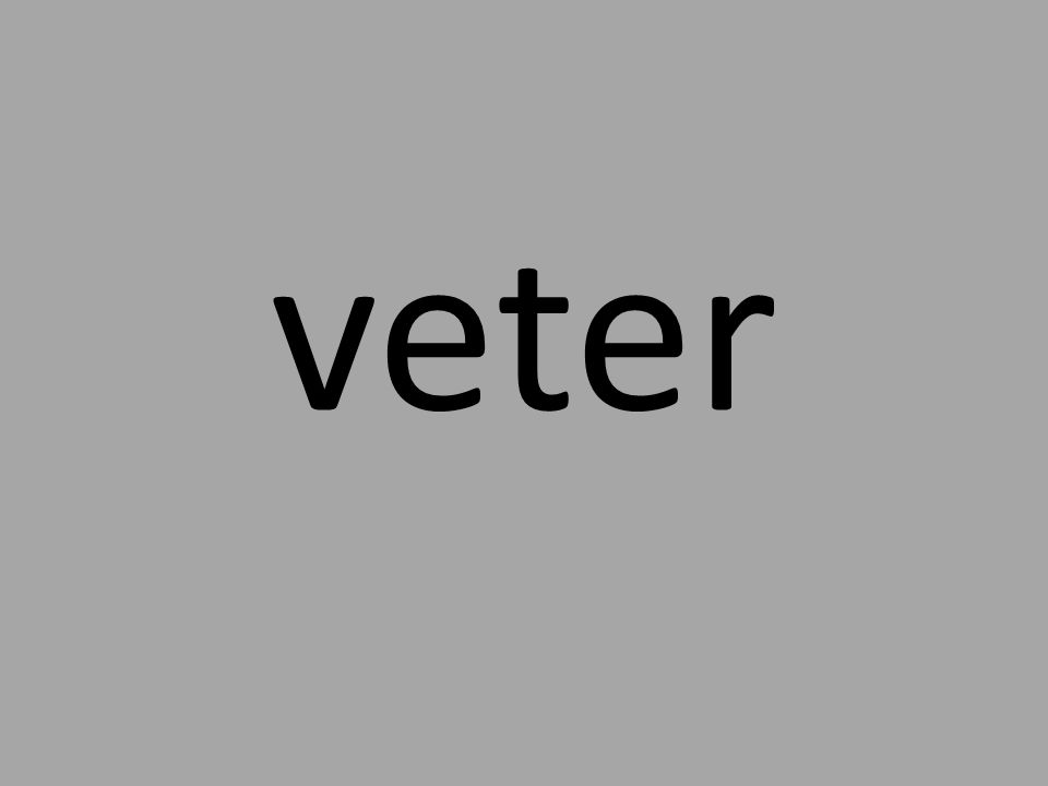 veter