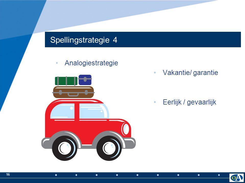 15 Spellingstrategie 3 Regelstrategie