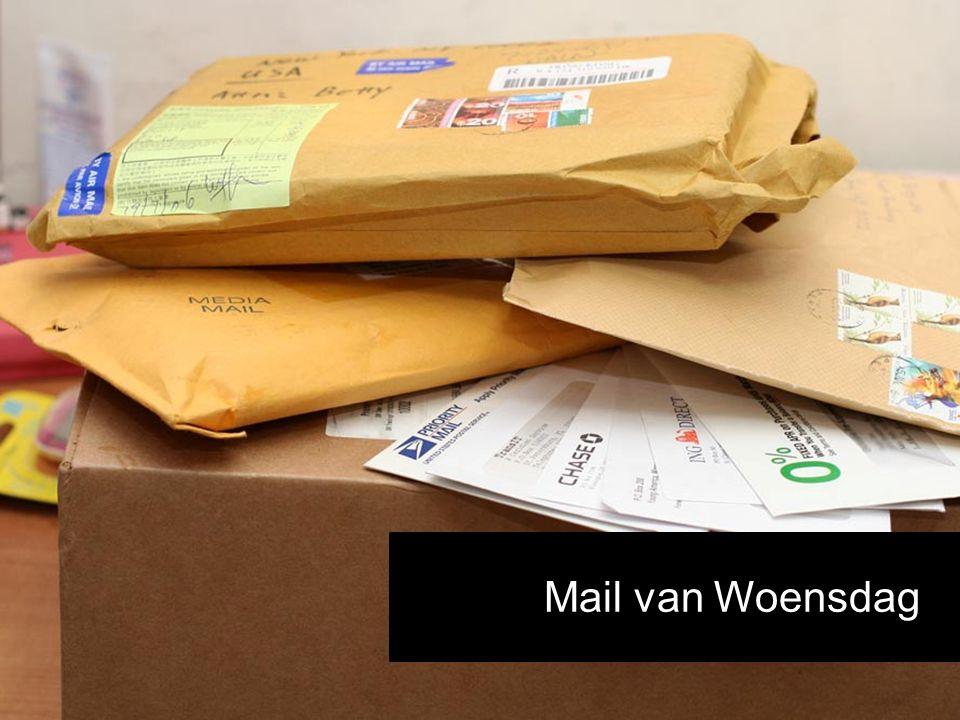 Mail van Woensdag