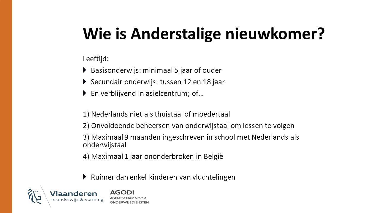Wie is Anderstalige nieuwkomer.