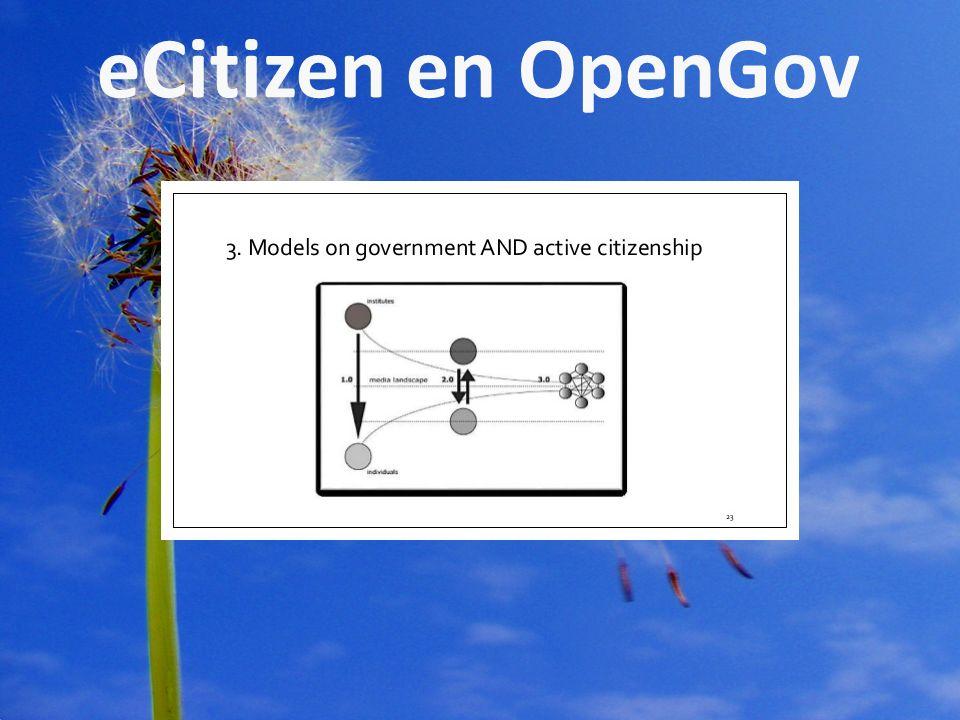 © Hiemstra & De Vries 2011 pagina3 eCitizen en OpenGov