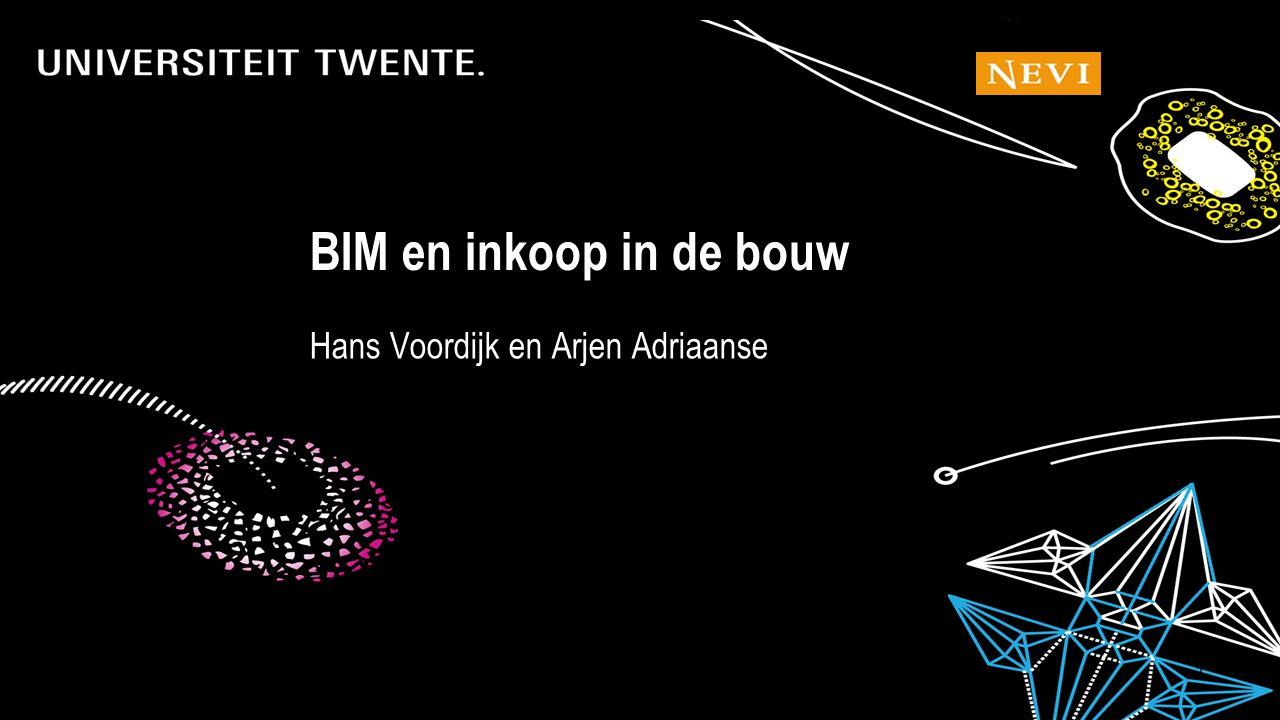 6-7-201642 Hans Voordijk en Arjen Adriaanse BIM en inkoop in de bouw
