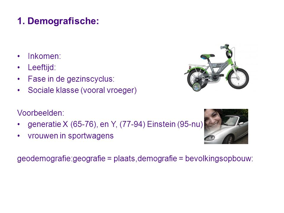 Meer weten: http://www.economiehulp.nl/segmenterenhttp://www.economiehulp.nl/segmenteren http://www.youtube.com/watch?v=llJNwdV- G88&feature=player_embedded# http://www.youtube.com/watch?v=tHGBN6_dXAI