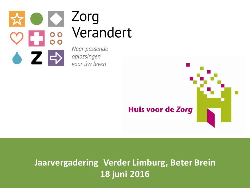 Jaarvergadering Verder Limburg, Beter Brein 18 juni 2016