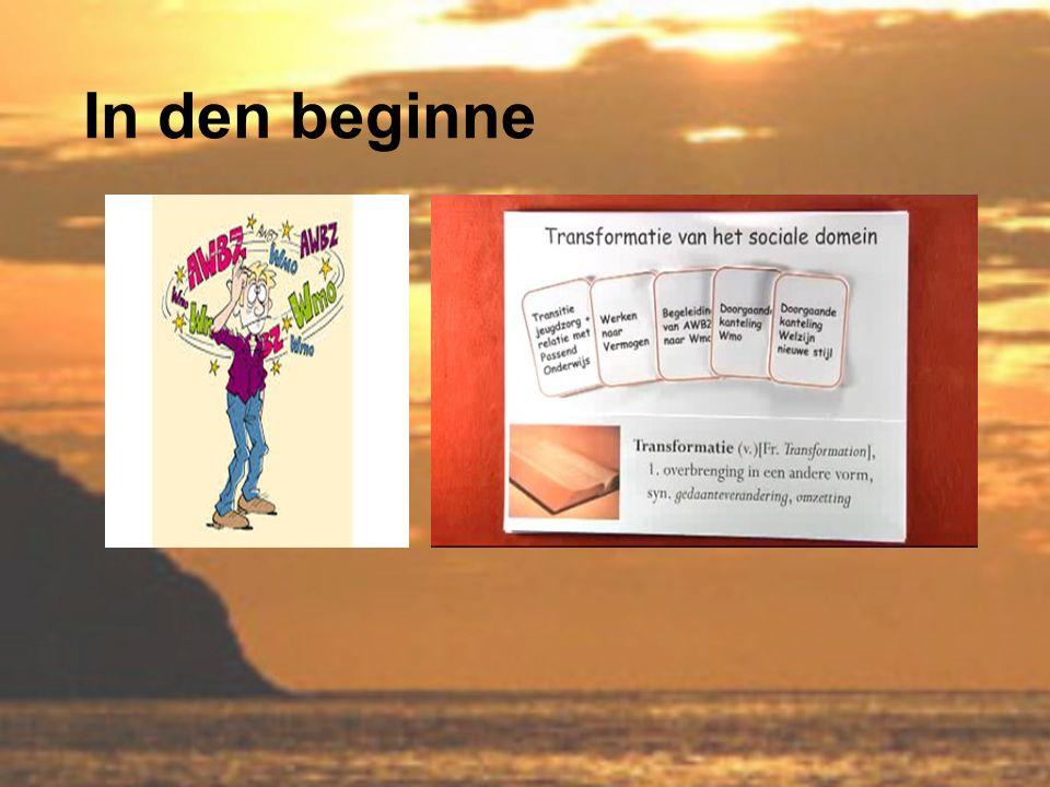 Omslag en omdenken Het is en blijft mensenwerk en vraagt van iedereen veel aanpassing en cultuurverandering.