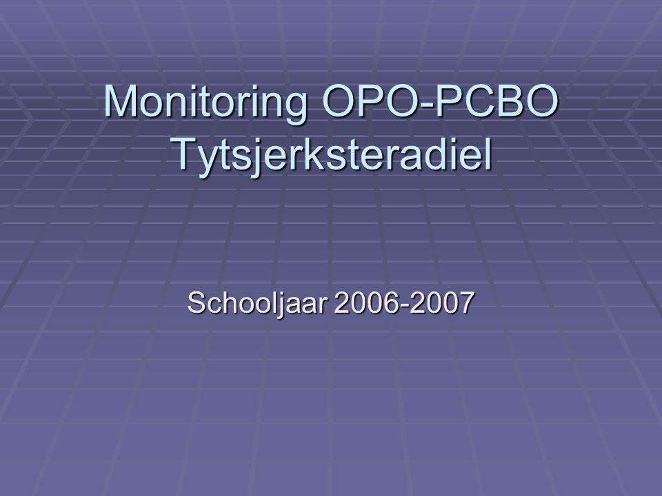 Monitoring OPO-PCBO Tytsjerksteradiel Schooljaar 2006-2007