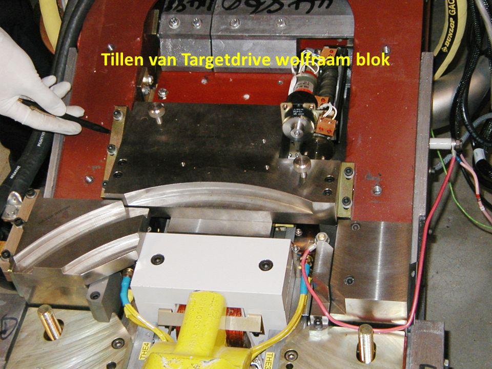 -> Bij storingen aan de filtercaroussel of primaire collimator mechanisme -> Niet nodig om kop vlak bij de arm te hangen.