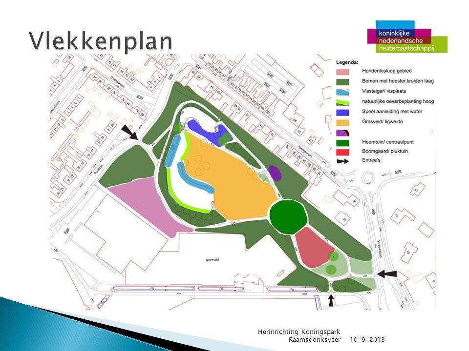 10-9-2013 Herinrichting Koningspark Raamsdonksveer